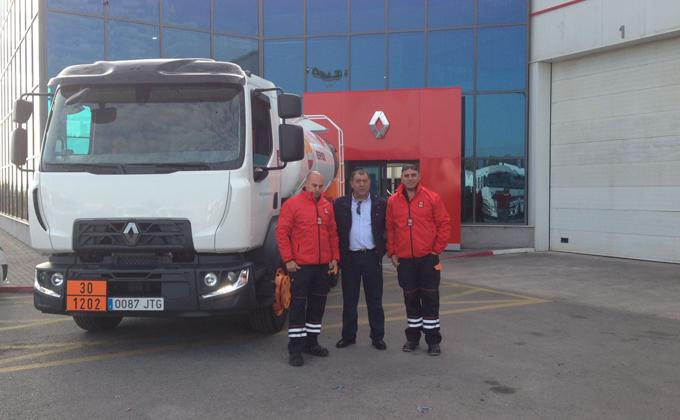 Entrega camión Renault