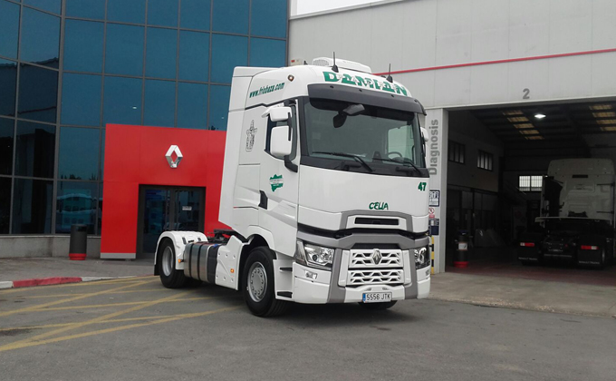 Entrega camion Renault (Granada)