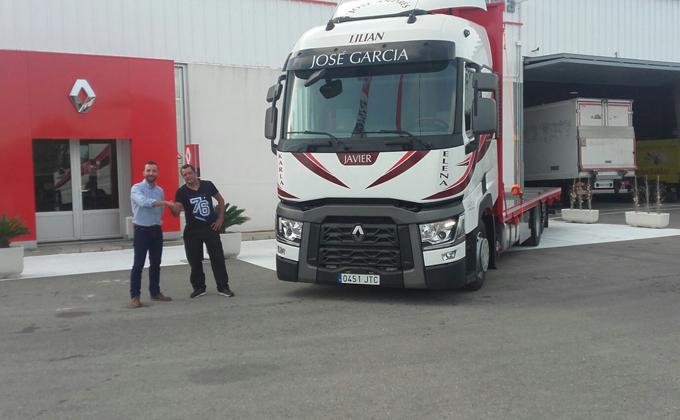 Entrega camión Renault (Alicante)
