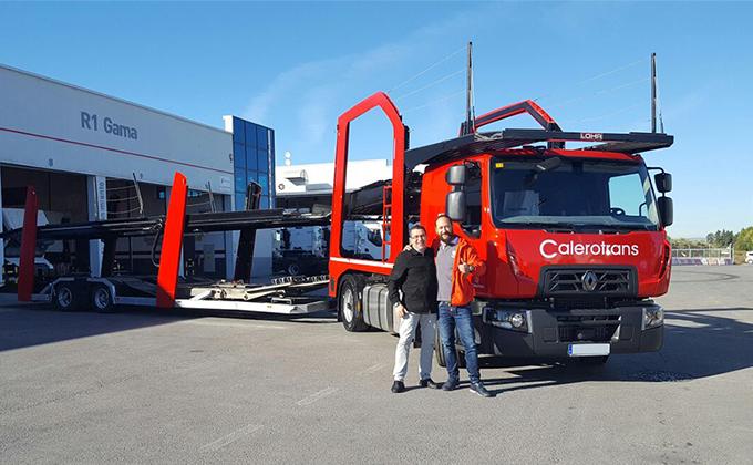 Entrega camión en Granada
