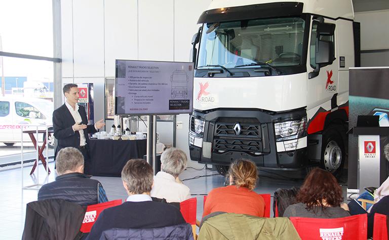 Presentación del T X-ROAD en R1 Gama