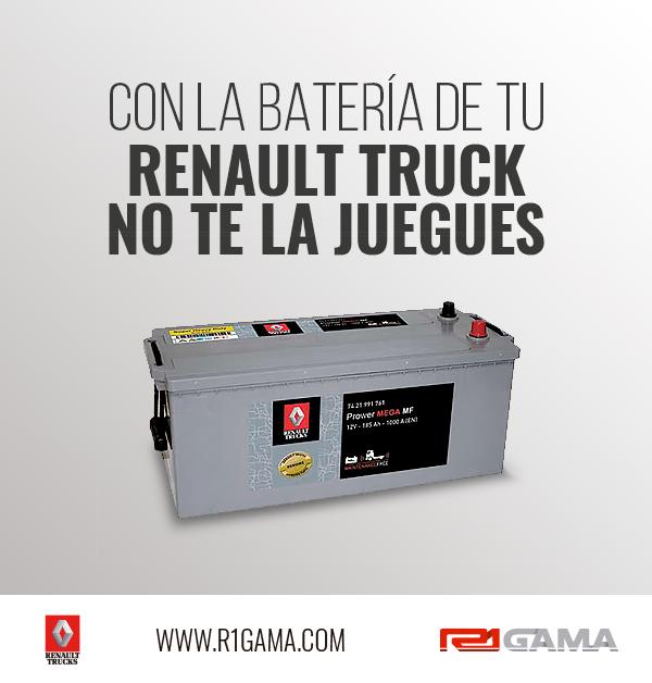 batería camión renault